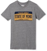 New York Local Pride by Todd Snyder Men's NY State of Mind Tee - Heather Gray