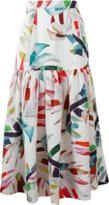 Mara Hoffman Drop Waist Midi Skirt