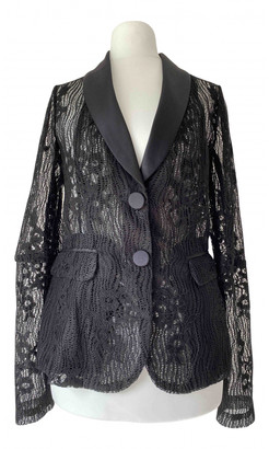 Alexis Black Silk Jackets