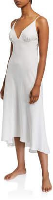 Christine Lingerie Long Silk Nightgown