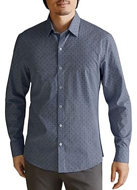Zachary Prell Rickets Plaid Classic Fit Shirt