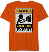 Hybrid Video Games Graphic-Print Cotton T-Shirt, Big Boys