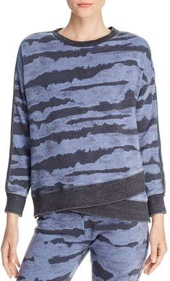 Vintage Havana Tie-Dye Burnout Sweatshirt