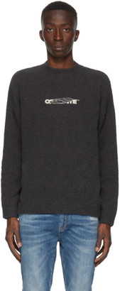 Off-White Black Barrel Worker Sweater