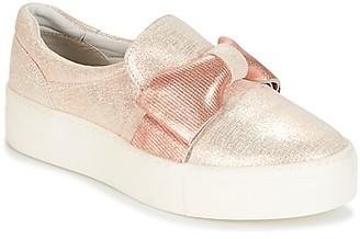 Elue par nous CHANDELIER women's Slip-ons (Shoes) in Pink