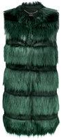 Liu Jo layered fur vest