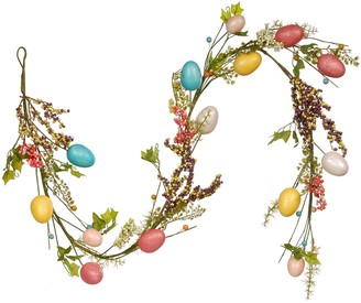 National Tree Company Artificial Easter Egg Garland