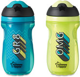 Tommee Tippee 2-Pack 9 oz. Insulated Girl Sipper Tumbler