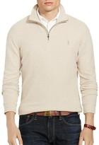 Polo Ralph Lauren Cashmere Touch Half Zip Sweater