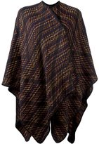 Missoni woven cape