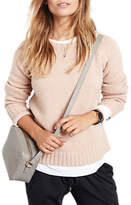 Hush Wool Cashmere Crew Neck Jumper, Rose Dust Marl