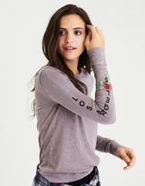 American Eagle Outfitters AE Graphic Sleeve T-Shirt