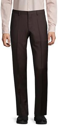 HUGO BOSS Genesis Slim-Fit Virgin Wool Dress Pants