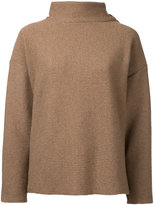 Osakentaro - roll neck jumper - women - Wool - M