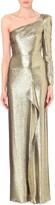 Roland Mouret Galahan metallic silk-blend gown