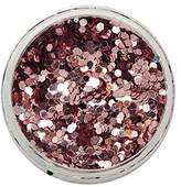 Blush Gem Powder Glitter From From Royal Care Cosmetics