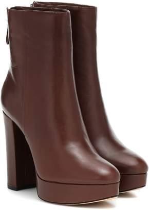 Alexandre Birman Rachel leather ankle boots