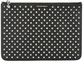 Alexander McQueen studded clutch - women - Leather - One Size