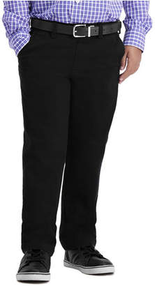 Haggar Little Boys Sustainable Chino, Reg Fit, Flat Front Pant