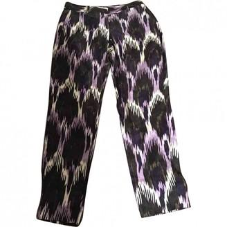 Michael Kors Multicolour Silk Trousers