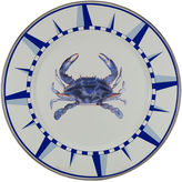 Golden Rabbit S/4 Blue Crab Dinner Plates