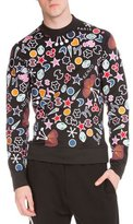 Kenzo Tanami Flower Printed Sweatshirt, Black