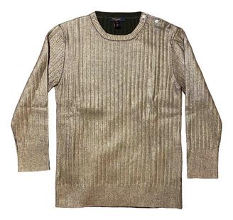 Louis Vuitton Gold Cashmere Knitwear