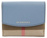 Burberry Women's Luna French Wallet - Blue