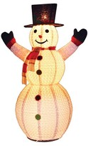 "Sterling 72"" Snowman with Top Hat"