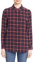 Equipment Women's 'Reese' Plaid Silk Shirt