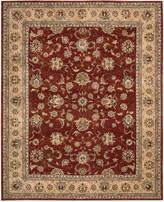 "Nourison Wool & Silk 2000 2203 Brick 9'9"" x 13'9"" Area Rug"