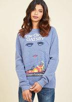 Novel Tee Sweatshirt in Jay in XXL