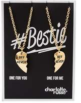 Charlotte Russe BFF 4Ever Pendant Necklace - 2 Packs