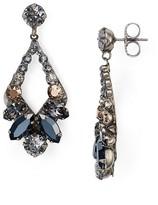 Sorrelli Swarovski Crystal Open Drop Earrings