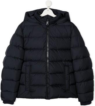 Herno TEEN detachable hood down-filled coat
