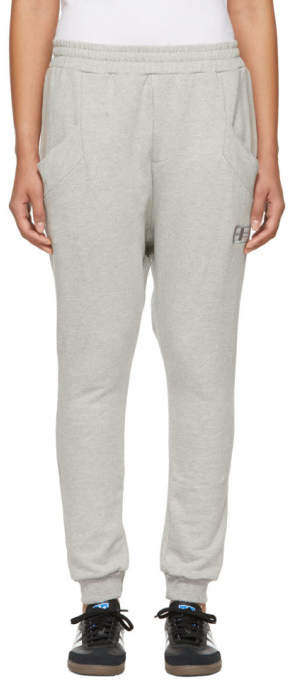 Baja East Grey Harem Lounge Pants