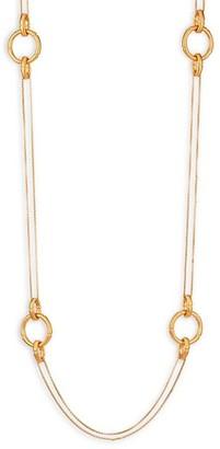 Dean Davidson Bamboo Link Charm Necklace