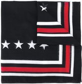 Givenchy - écharpe rayée à étoiles