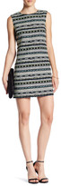 Cynthia Steffe Courtney Sleeveless Geo Jacquard Shift Dress