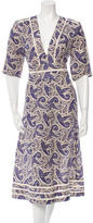 Zimmermann Paisley Print Midi Dress