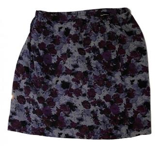 The Kooples Fall Winter 2019 Purple Silk Skirts