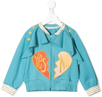 Raspberry Plum Ray track jacket
