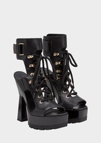 Versace Platform Lace up Sandals