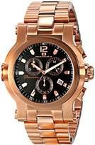 Oceanaut Men's OC0827 Baccara XL Analog Display Quartz Rose Gold Watch