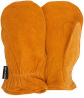JCPenney QuietWear Insulated Split Leather Mittens