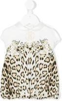 Roberto Cavalli leopard print dress