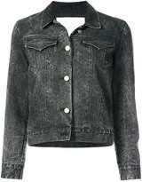 ADAM by Adam Lippes pearl buttoned denim jacket