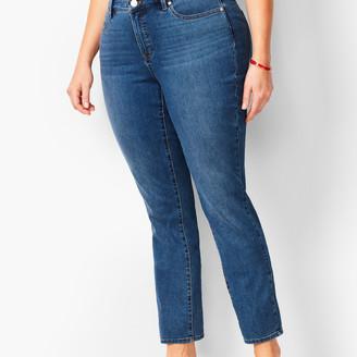 Talbots Plus Size Slim Ankle Jeans - Equinox Wash