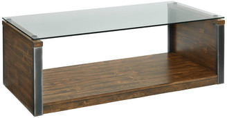 Progressive Furniture Midtown Glass Cocktail Table