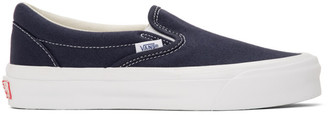 Vans Navy OG Classic Slip-On Sneakers